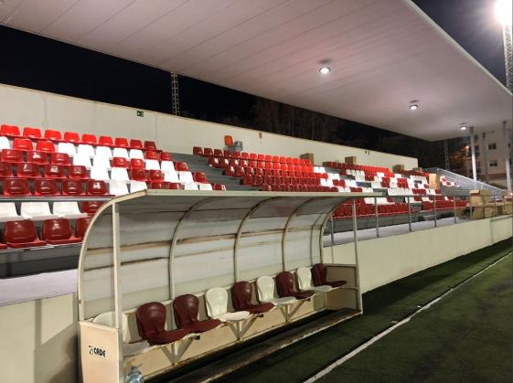 MIRALBO presents the CD JAVEA with 500 chairs for the new indoor grandstand