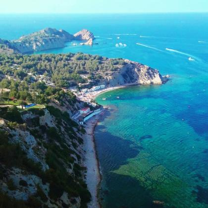 The beaches of Javea